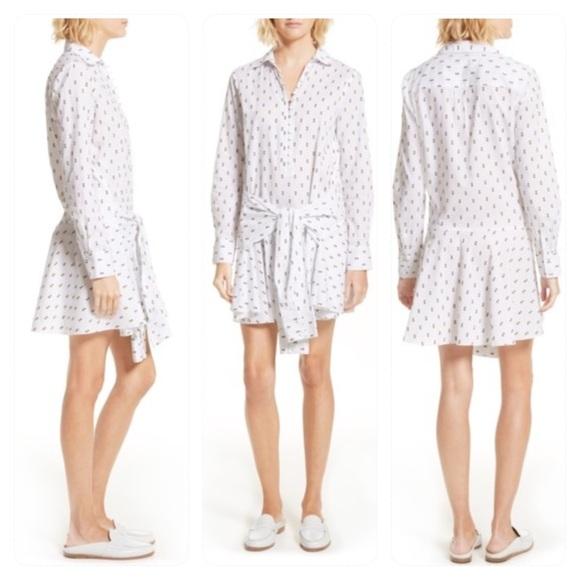 Derek Lam Dresses & Skirts - NWT! DEREK LAM 10 CROSBY Tie Waist Shirtdress